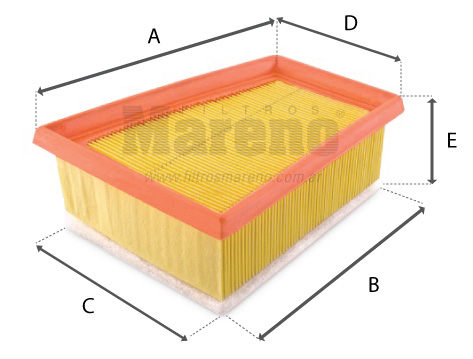 imagen de referencia de dimensiones